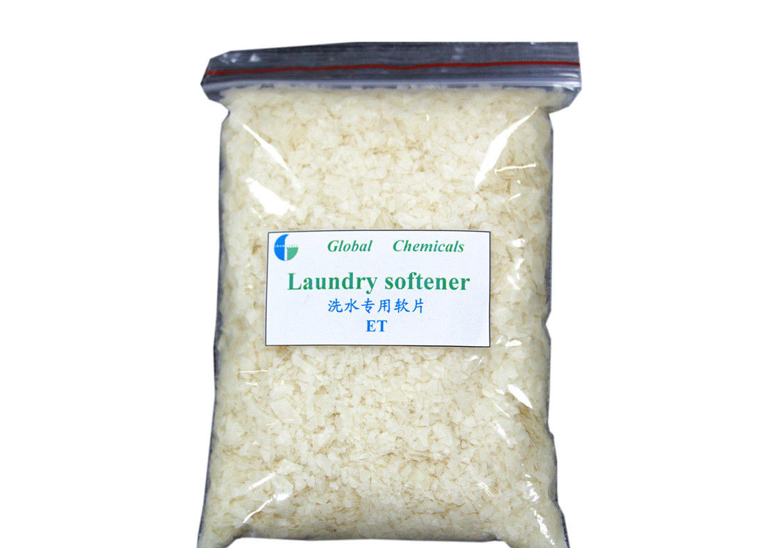 Cold Water Soluble Laundry Fabric Softener Chemicals For Denim / Garment Washing