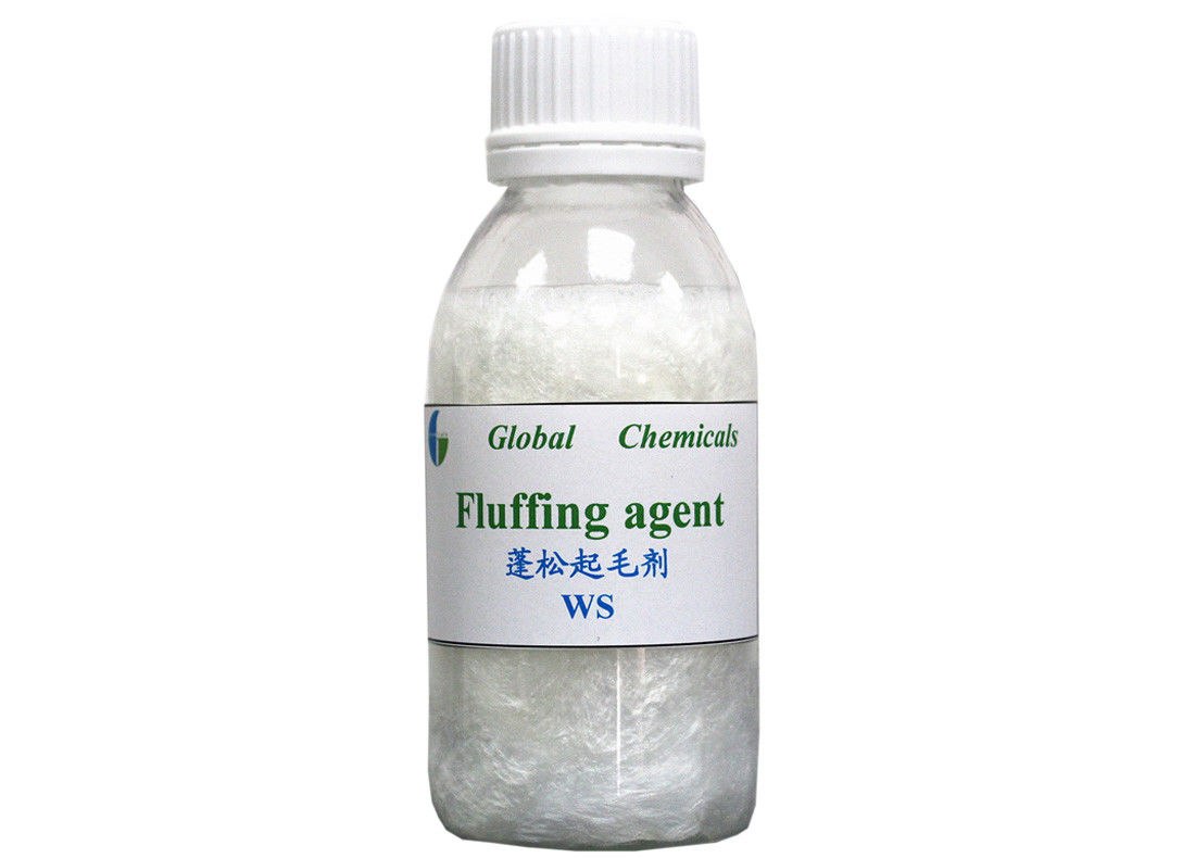 Natural / Synthetic Fibre Textile Auxiliary Agent Cationic Fluffing Agent WS